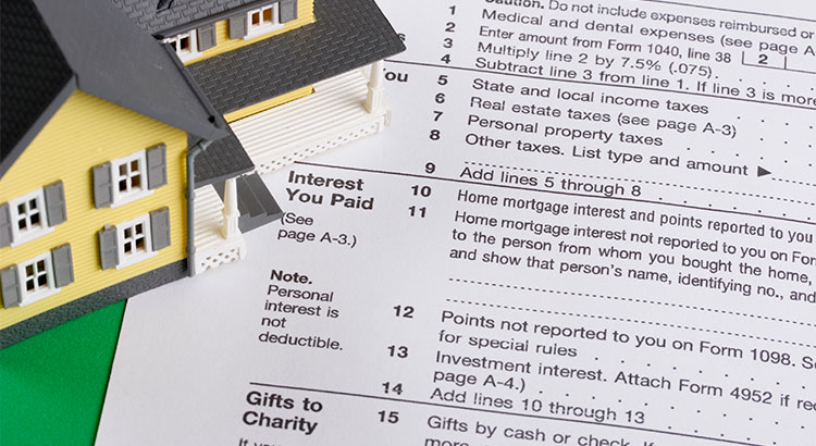 an image of tax forms