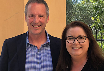 chrysti tovani with glenn sanford exp realty ceo and founder august 2019 8 x 10 crop